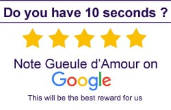 Note Gueule d'Amour on Google ! Thank you so much !